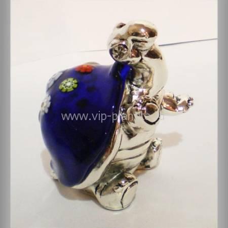 """Статуэтка """"Черепашка"""" Euro Far 0910AM blue"""