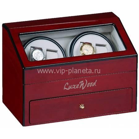 Шкатулка для 4 часов с автоподзаводом Luxewood LW622-2
