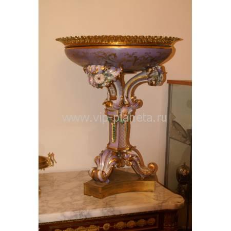 Декоративная ваза (императорский фарфоровый завод) середина XIX века 20F90