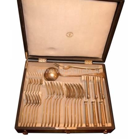 Сервиз столовый на 6 персон, Западная Европа, 32 предмета в коробке C54