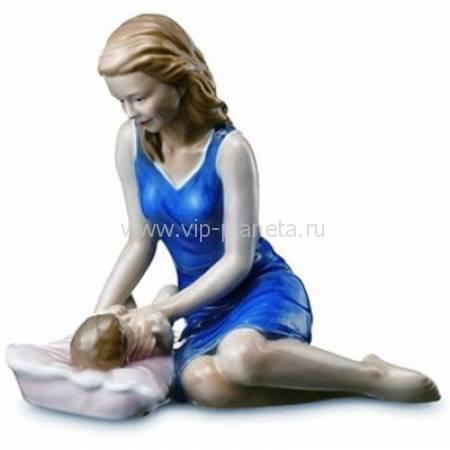 """Статуэтка """"Мама с малышом"""" Royal Copenhagen 1249543"""