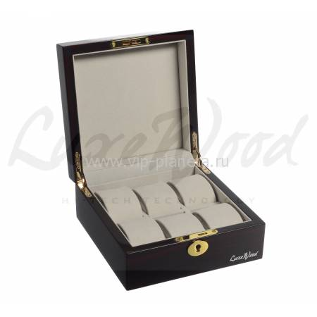 Шкатулка для хранения 6 часов Luxewood LW803-6-5