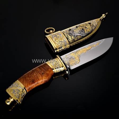 """Нож подарочный """"Гепард"""" Златоуст RV0028758CG"""