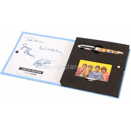 "Набор The Beatles ""Sgt.PEPERS"": визитница, ручка роллер 50744"